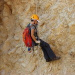 © Extreme in Israel - Dead Sea - Canyon Parsa - Rappelling